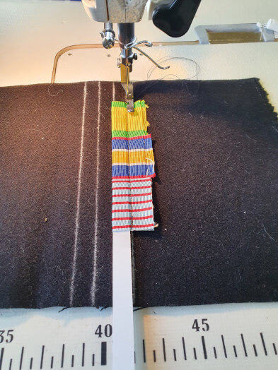 Montage barrette dixmude couture canape