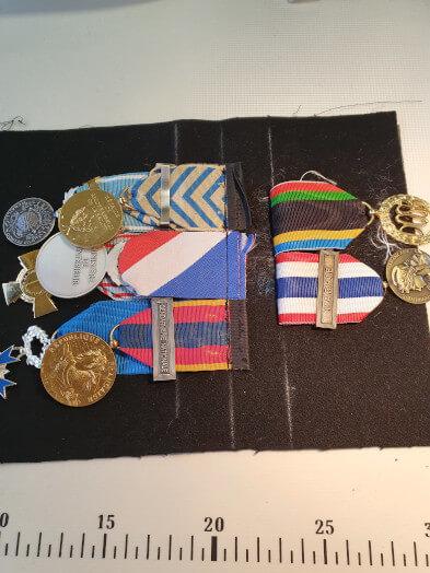 5 couture du ruban des medailles