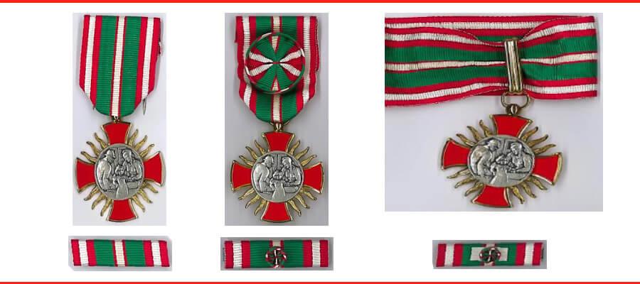 Médaille de l'oeuvre des pupilles ODP