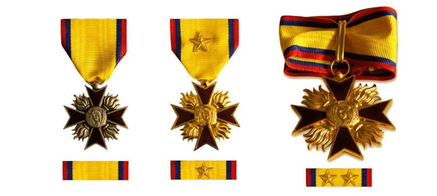 Medailles Federale Sapeurs-Pompiers Reconnaissance