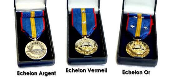 Médaille des Musiques Fédérale Sapeurs Pompiers