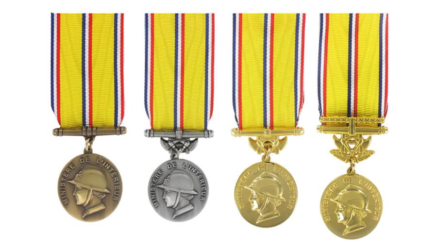 nouvelles medailles honneur sapeurs-pompiers decret 2017